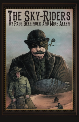 Paperback cover by Orion Zangara and Derek L. Chase, additional design by Mike Allen